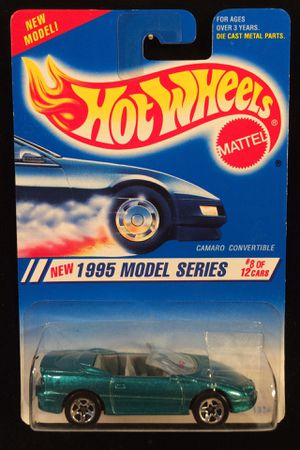 Hot Wheels 1995 Model Series Camaro Convertible • Teal With 5SP's • Ask About Combined Shipping for Sale in Keller, TX