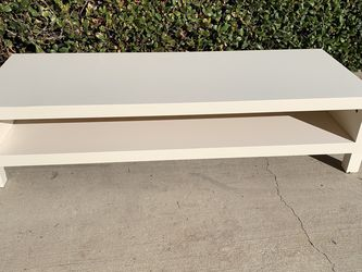 White Coffee Table/ Tv Stand $85 for Sale in Corona,  CA