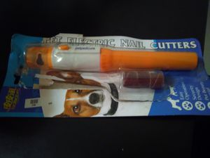 Pet electric nail cutter - battery for Sale in Boston, MA