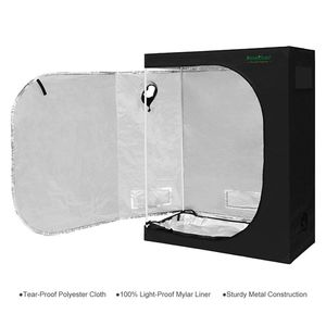 "Finether 48""x24""x60"" Grow Tent Mylar Hydroponic Plant Growing Tent with Observation Window and Removable Floor Tray for Indoor Plant Growing for Sale in New York, NY"