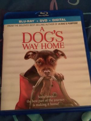 A dog's way Home Blu Ray disc and DVD for Sale in Miami, FL