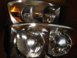 Headlights for ram used in good condition(usadas en buenas condiciones for Sale in Neffsville, PA