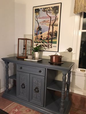 Buffet sideboard island server credenza for Sale in Azusa, CA