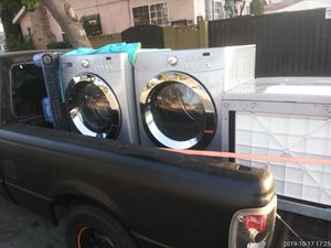 Washer and dryer pair (Faqg77077kao) affinity for Sale in Lynwood, CA