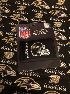 New NFL Baltimore Ravens Men's Nylon Wallet - NWT for Sale in Fort Washington, MD