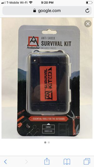 Avalanche Anti-shock Survival Kit X 3 Includes 7 Pieces Tools In for Sale in Richardson, TX
