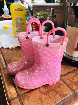 Toddler girl rain boots for Sale in Norwalk, CA