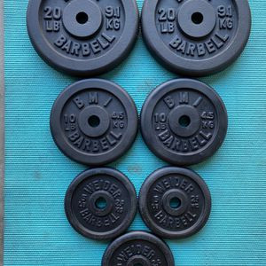 75 Lbs Of Standard Weight Plates - Super Clean! for Sale in Phoenix, AZ