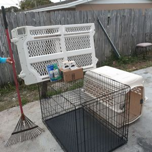 Dog Travel Cage And Other for Sale in Boynton Beach, FL