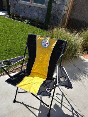 STEELERS CHAIR NEW!! for Sale in Corona, CA