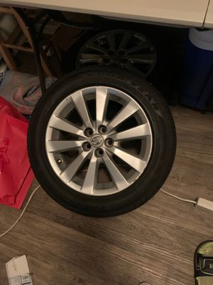 Toyota Corolla tire 2010 sport number 205/55R16 for Sale in Austin, TX