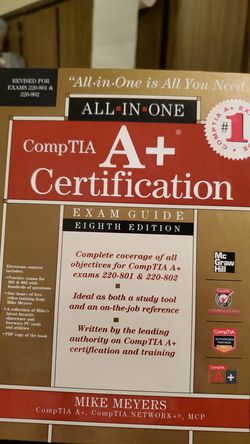 Comptia eighth edition for Sale in San Angelo,  TX