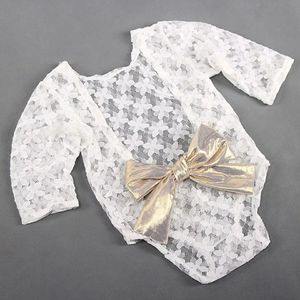 White lace gold bow onesie for Sale in Downey, CA