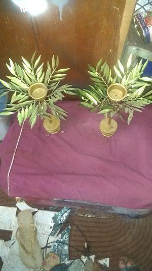 2 Cute candle holders palm trees for Sale in Wahiawa, HI