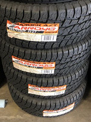 265/70R16 Arroyo All terrain for Sale in Las Vegas, NV