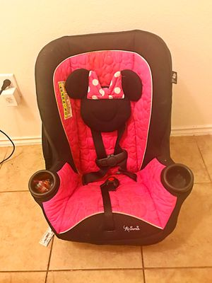 Minnie Mouseketeer car seat for Sale in Leander, TX