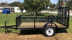 Nice Like New 6x10 Utility Trailer for Sale in Lakeland, FL