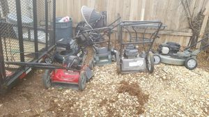 Used Lawn mowers for sale, fix,or parts for Sale in Colorado Springs, CO