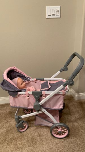 Baby Doll and Stroller for Sale in Temecula, CA