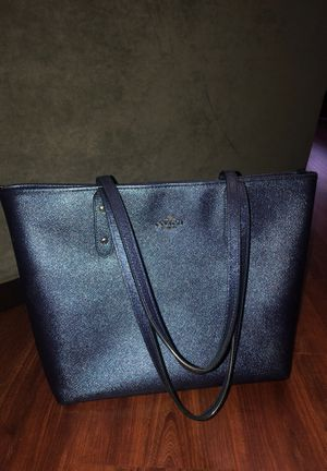 Coach Tote Deep blue for Sale in Indianapolis, IN