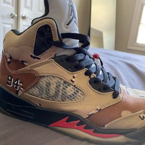 Air Jordan 5 x supreme Colab camo for Sale in Wayne, NJ