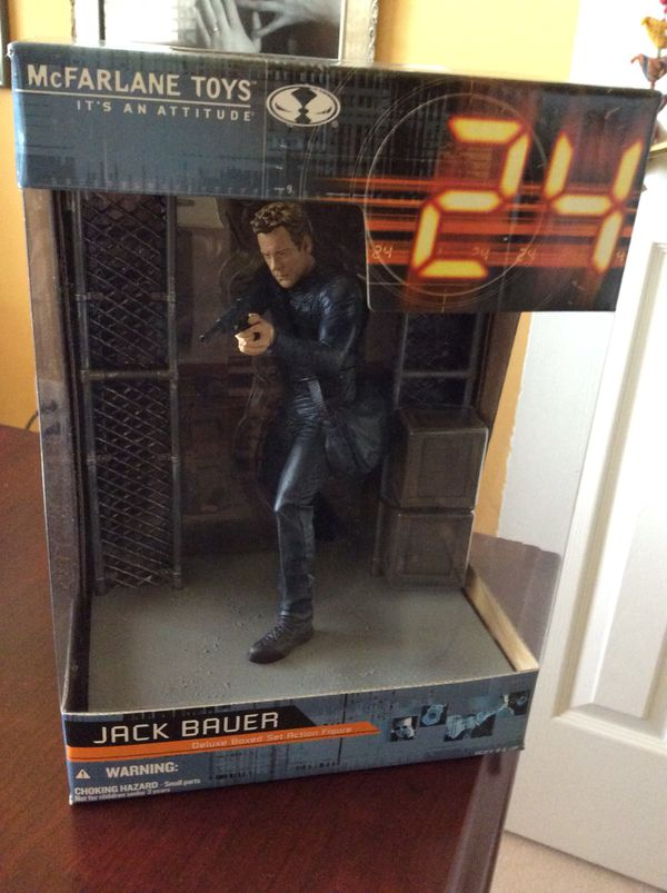 Action figure Jack Bauer collectible new in box