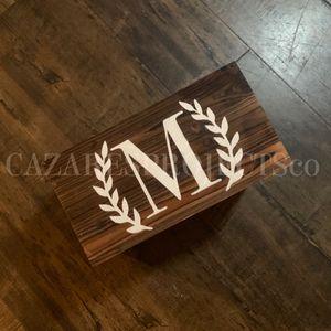 Monogram wood sign *Price Varies for Sale in Bakersfield, CA