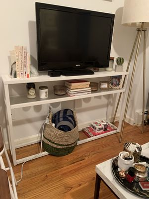 White Console Table/TV Stand for Sale in New York, NY