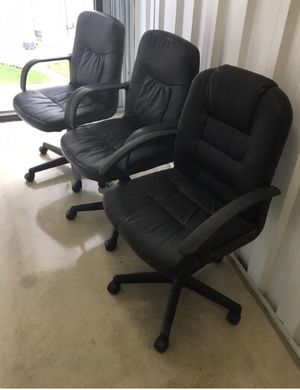 Office chairs $25. All three for $60. for Sale in Baltimore, MD