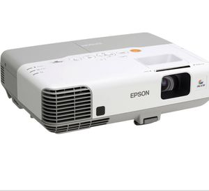 Barely Used Epson Projector & Da-Lite Vintage Screen for Sale in Plantation, FL