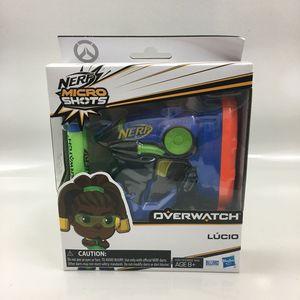 Nerf Micro Shots Overwatch LUCIO Nerf Gun Blaster for Sale in Sarasota, FL
