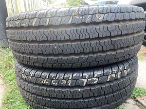 2 good use tires Nexen LT 225/85/16 for Sale in Herndon, VA
