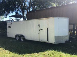 2017, 30' enclosed box trailer FS or Trade for Sale in Arcola, TX
