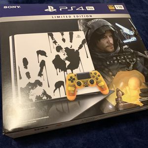 PS4 Pro (Death Stranding Edition) + 3 physical games + (20 Optional Digital Games) for Sale in Los Angeles, CA