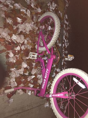 Girls bike needs new seat for Sale in Medford, MA
