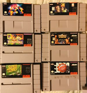 Super Nintendo games $10 each for Sale in San Diego, CA