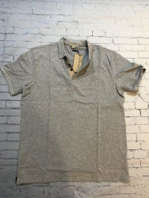 Men's Burberry polo shirt Gray size S for Sale in North Potomac, MD