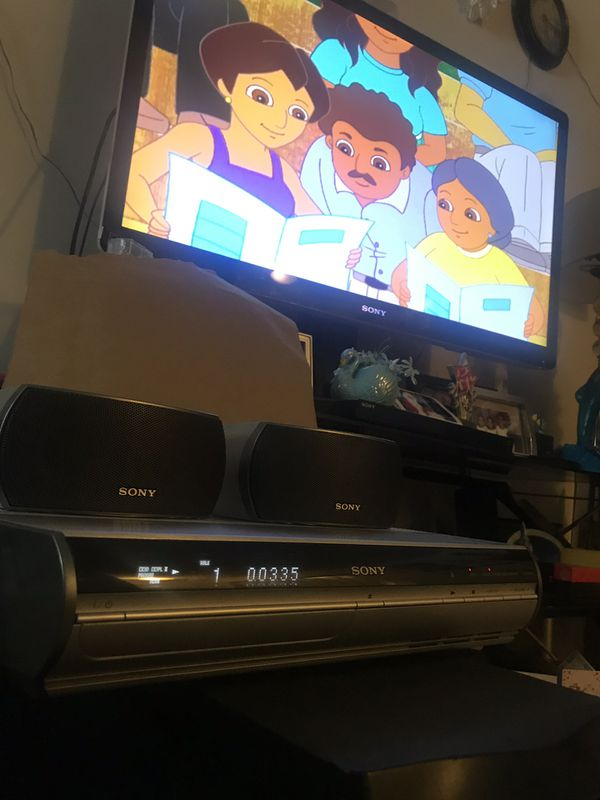 SONY S-FORCE PRO with 2 SS-X1F SPEAKERS