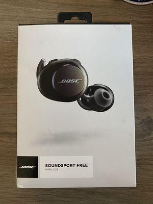 Bose Soundsport Free Wireless Headphones BRAND NEW for Sale in Portola Valley, CA