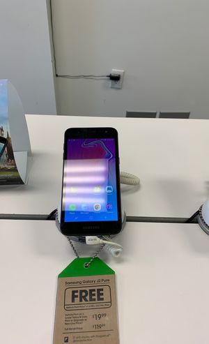 Samsung Galaxy J2 Pure FREE when you switch! for Sale in Chesapeake, VA