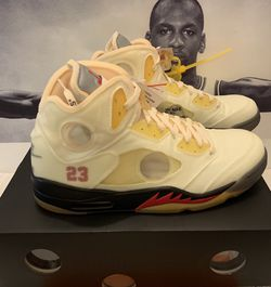 Jordan 5 Sail Off - White Sz13 for Sale in Buckeye,  AZ
