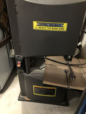 "9"" Bench Top Band Saw electrical for Sale in Lauderhill, FL"