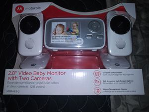 Baby Moniter with Two Cameras for Sale in Alexandria, LA