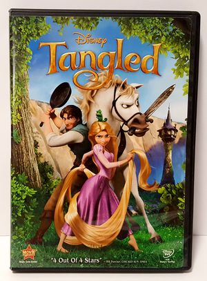 Tangled Disney DVD movie disneys tangled dvd for Sale in Miramar, FL