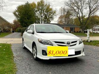 Vehicle.Sale 2O12 Toyota Corolla Great.Shapee FWDWheelss✅✅✅ for Sale in Montgomery,  AL