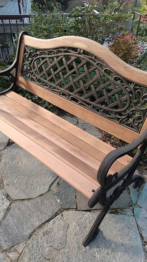Wrought iron bench for Sale in Edmonds, WA