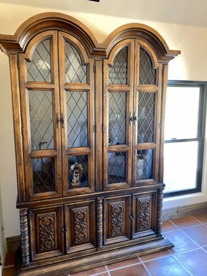 Wood hutch / buffet / cabinet for Sale in San Diego, CA