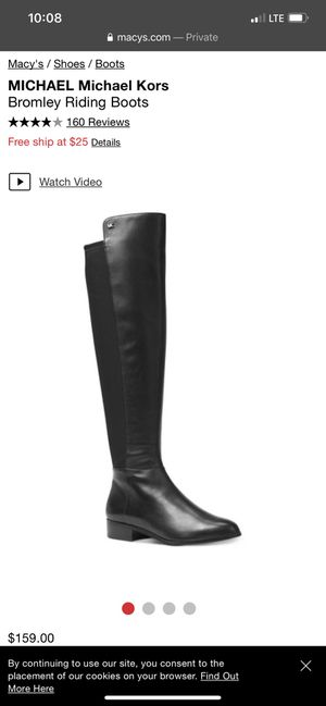 MICHAEL Michael Kors Bromley Riding Boots for Sale in Fontana, CA