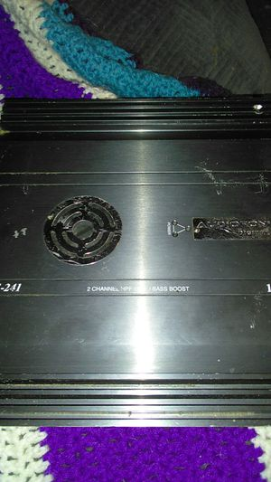 Audiofonics ADF-241 Car Amp 2 Channel HPF/LPF/Bass Boost 1000W for Sale in Mission Viejo, CA