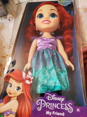 Ariel disney princess doll for Sale in Wildomar, CA